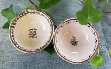 Giving Trinket Bowls Natural Life®