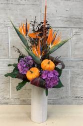 Glacious Birdies Thanksgiving arrangement