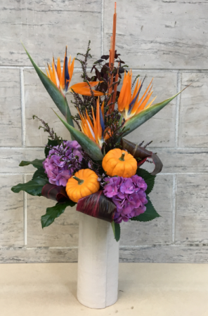 Glacious Birdies Thanksgiving arrangement
