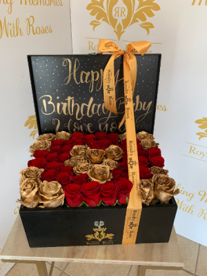 Glam Baul  Box of Roses Baul in Harlingen, TX | Royalty Roses