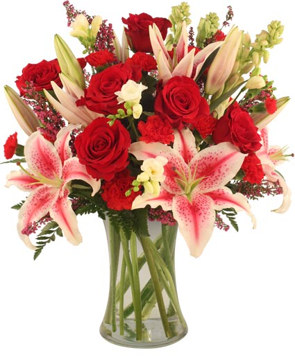 Glamorous Bouquet In Riverton Il Just Becauseflowers Gifts