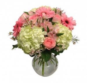 Glamorous Charm Vase Arrangement in Seguin, TX | DIETZ FLOWER SHOP & TUXEDO RENTAL