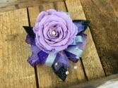 Glamorous Lavender  Forever Rose Wrist Corsage