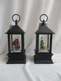 Glass and Metal Lanterns Gift Item