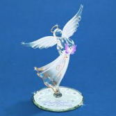 Glass Baron Angel Figurine Glass Baron Angel Figurine