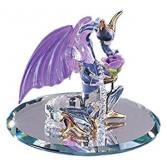 Glass Baron ~ Dragon Sniffy Figurine  Glass Baron ~ Dragon Sniffy Figurine