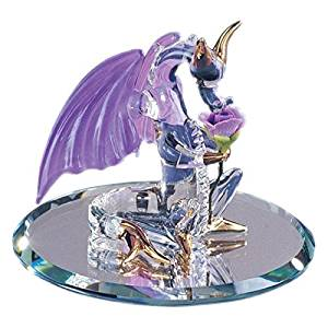 Glass Baron ~ Dragon Sniffy Figurine  Glass Baron ~ Dragon Sniffy Figurine