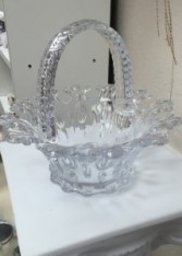 Glass Basket Basket