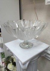 Glass Bowl Basket