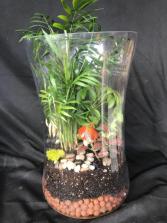 Glass Garden Terrarium Planter
