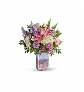 GLASS GRANDIER BOUQUET