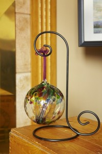 Glass Kitras Ball  in Lima, OH | YAZEL'S FLOWERS & GIFTS