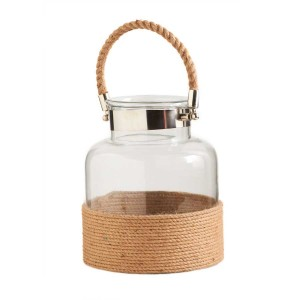 Glass Rope Jug - choice of 3 sizes  Gifts in Sutton, MA | POSIES 'N PRESENTS