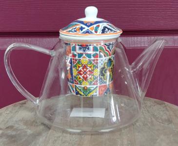 """Glass teapot """"Morocco"""" Teapot"""