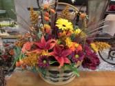 Glaze of Glory Custom Fitzgerald Flowers Arrangement