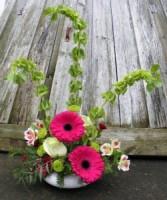 Gleeful Gerberas  Fresh flower arrangement