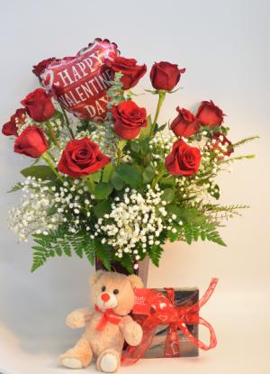 Glenda's Valentine's Day Combo  in Holland, MI | GLENDA'S LAKEWOOD FLOWERS
