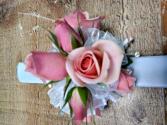 Glitsy Pink Corsage