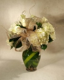 Glittering Season of Joy  Fresh Flower Arrangement