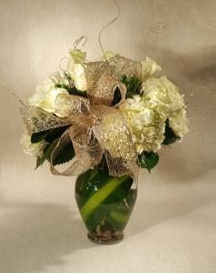 Glittering Season of Joy  Fresh Flower Arrangement in Port Huron, MI | CHRISTOPHER'S FLOWERS