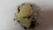 Glittery Glamour Corsage