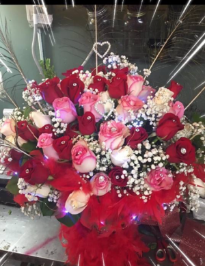 Glitz and glamor  4 dozen long stem  in Ozone Park, NY | Heavenly Florist