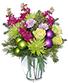 GLITZY HOLIDAY PARTY Flower Arrangement