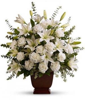 Glorioso Arreglo Floral para Condolencias in Miami, FL | FLOWERTOPIA