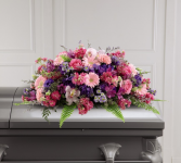 Glorious Garden Casket Spray Casket Spray