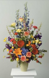 Glorious Garden Flowers Funeral Flowers Las Vegas
