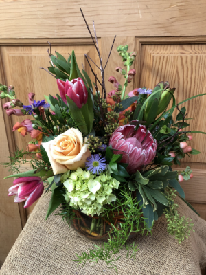 Glorious Garden TVF Exclusive in Appleton, WI | TWIGS & VINES FLORAL