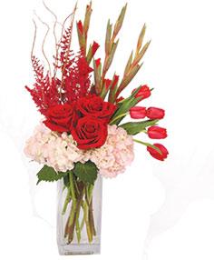 Glorious Garnet Floral Design