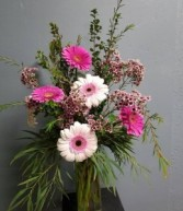 Glorious Gerberas Vase