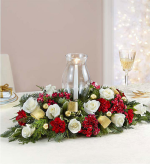 Glorious Holiday Centerpiece  in Oakdale, NY | POSH FLORAL DESIGNS INC.