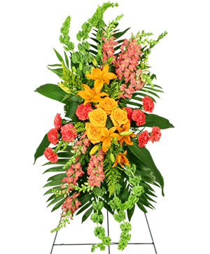 GLORIOUS LIFE Funeral Flowers in Colorado Springs, CO | ENCHANTED FLORIST II