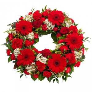 Glorious Life Sympathy Wreath in Newmarket, ON | SIMPLY FLOWERS