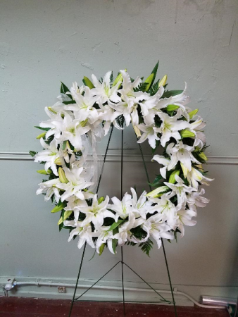 Glorious Lily Wreath Wreath