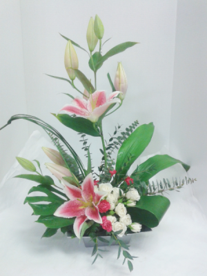 Glorious Pink Lily's  in Tottenham, ON | TOTTENHAM FLOWERS & GIFTS