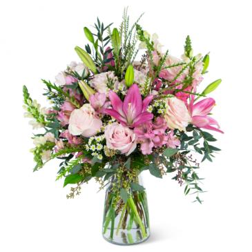 Glorious Pink Meadow Arrangement