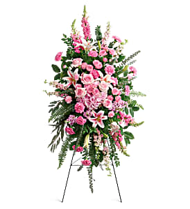 Glorious Splendor Sympathy Easel