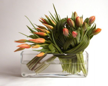 Glorious Tulips  Vase arrangement