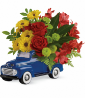 Glory Days Ford Pickup All-Around Floral arrangement