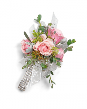 Glossy Corsage Corsage/Boutonniere in Nevada, IA | Flower Bed