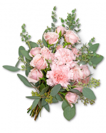 Glossy Hand-tied Bouquet Corsage/Boutonniere