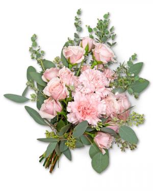 Glossy Hand-tied Bouquet Flower Arrangement in Nevada, IA | Flower Bed