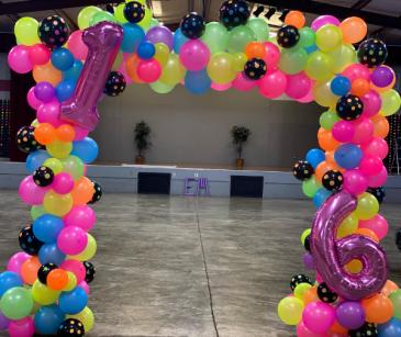 Glow in the Dark Balloons  Balloon Garland