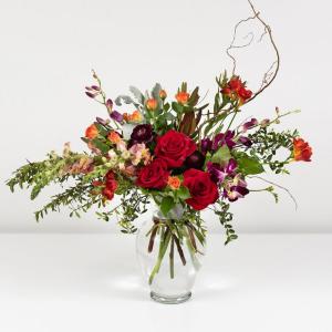 Glowing Embers Garden Style Flowers in Mount Pleasant, SC | BELVA'S FLOWER SHOP