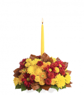 Glowing Fall Centerpiece Fall