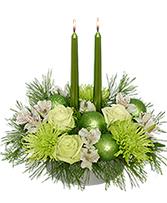 Glowing Green Arrangement