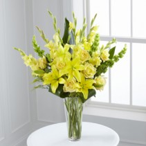 Glowing Ray Bouquet Sympathy Gift